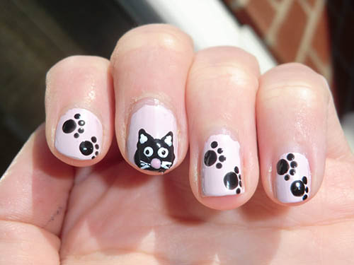Animal Nail Art Designs Beautyfrizz