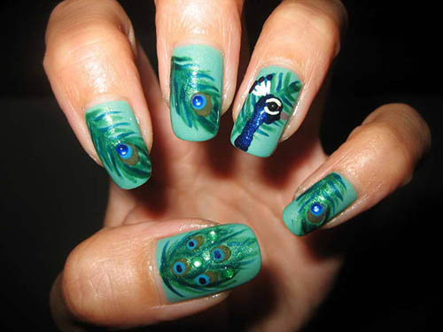 Complex, Yet Chic Nail Art Designs