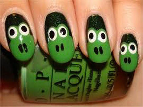 Animal Nail art Designs