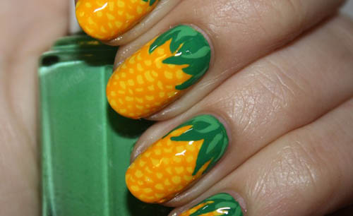 Fruit nail art designs beautyfrizz fruit nail art designs prinsesfo Image collections