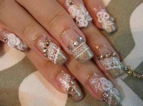 Wedding Nail Art Designs