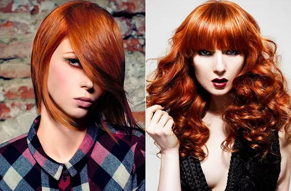 Red Hair Color Ideas for Women
