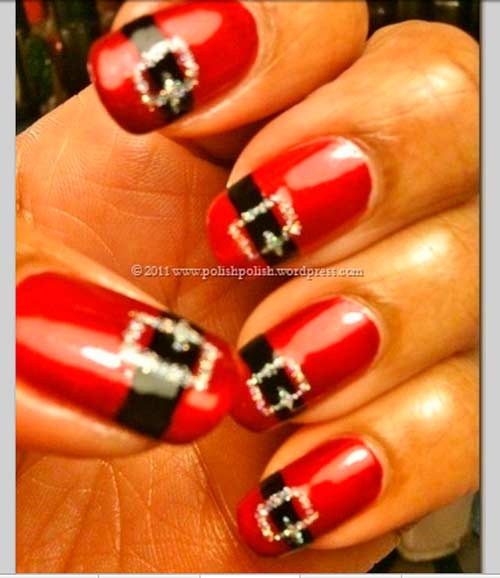 Christmas 2013 Nail Art: 101 Cute Christmas Nail Designs For The Festive Season