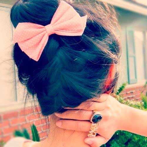 Top 50 Cute Girly Hairstyles with Bows