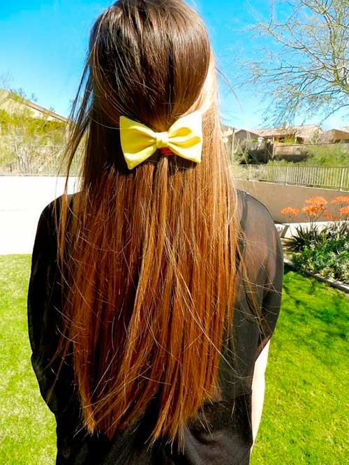 styles of hair bows top 50 girly hairstyles with bows beautyfrizz 5720 | hair bows8