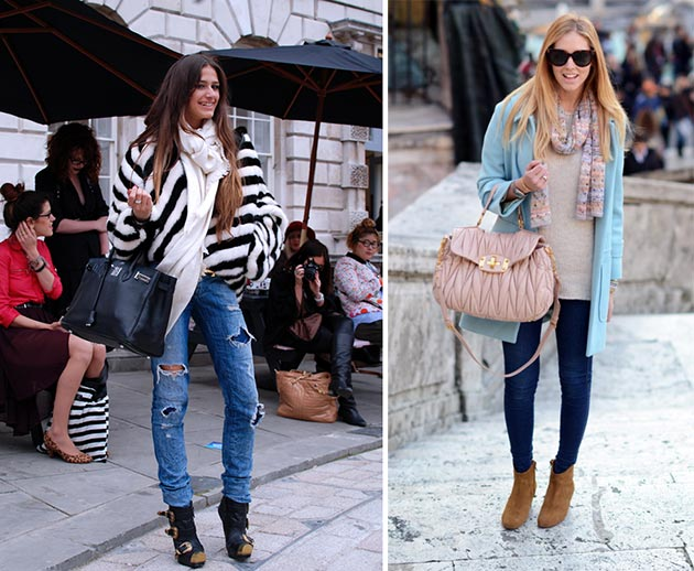 Layering Clothes in Winter