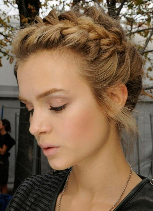 Gorgeous Braided Hairstyles for Super-Curly Hair