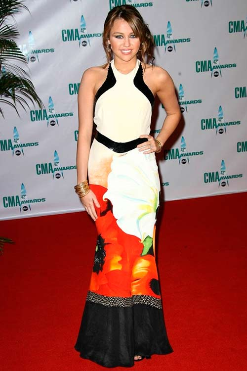 Miley Cyrus Fashion Flashback
