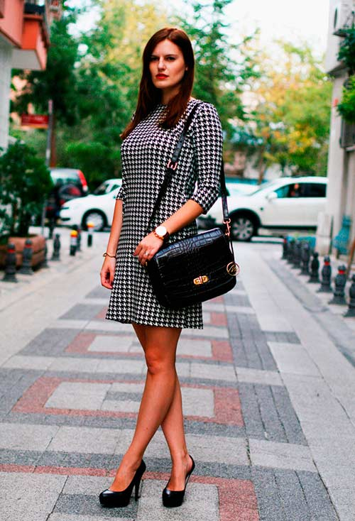 Trendiest Prints of the Season: Houndstooth