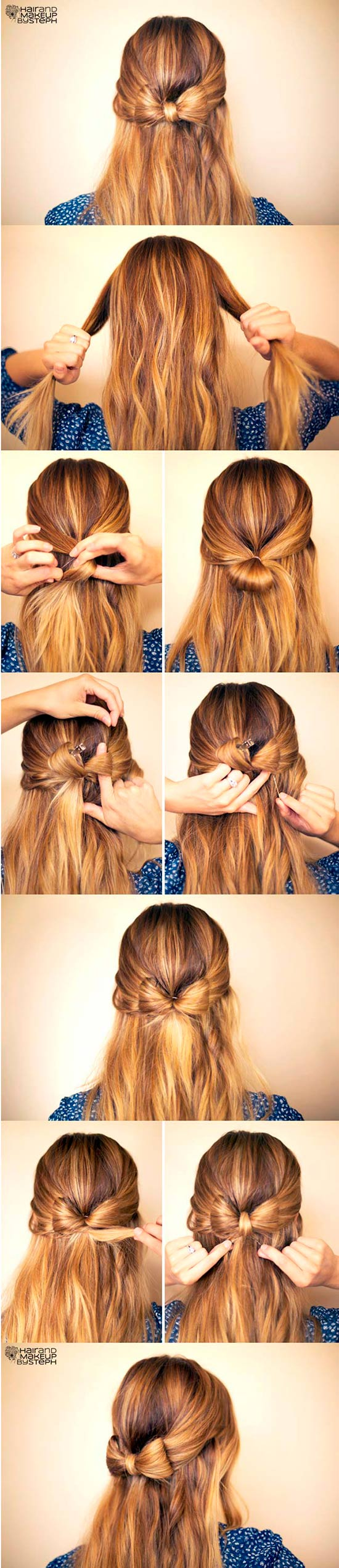 Easy Step-By-Step Hairstyle Tutorials for Chic, Girly Looks