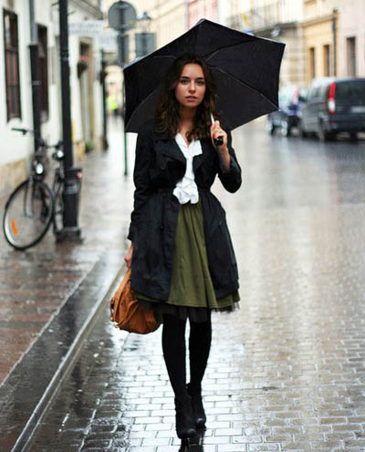 What to Wear on a Rainy Day