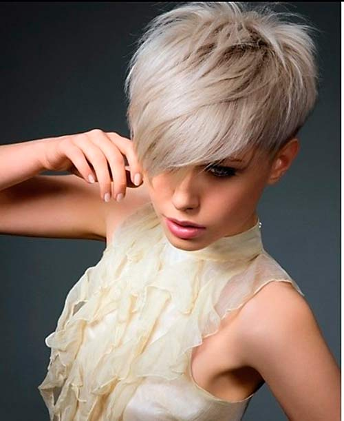 Short Hairstyles Long On Top In Back Elegant For Older Women About Styling