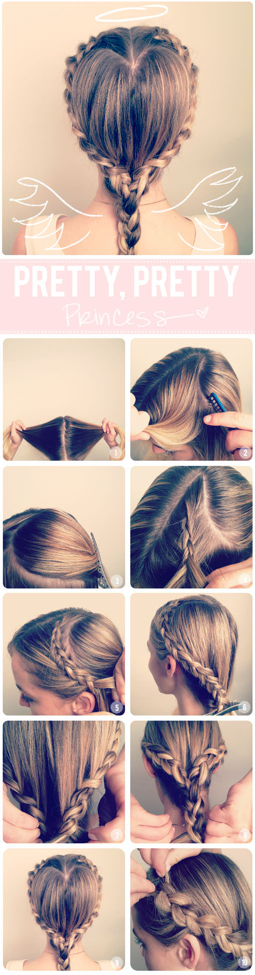 6 Love Inspired Valentine's Day Hairstyle Tutorials
