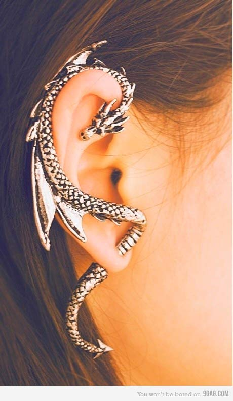 Industrial Piercing Dream Catcher Piercing Types and 41 Ideas On How to Wear Ear Piercings – BeautyFrizz 31