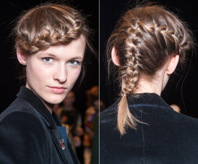 The Braided Beret Hairstyle Tutorial