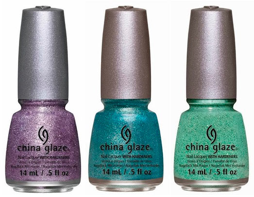 China Glaze Sea Goddess Spring 2014 Nail Polishes