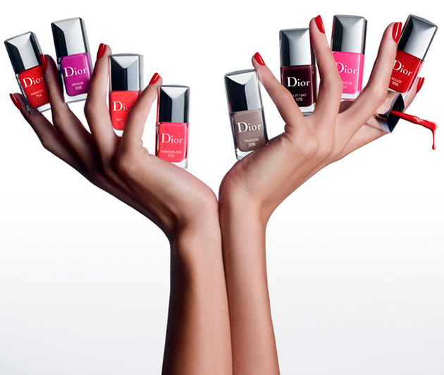 Dior Vernis Couture Effet Gel Collection for Spring 2014