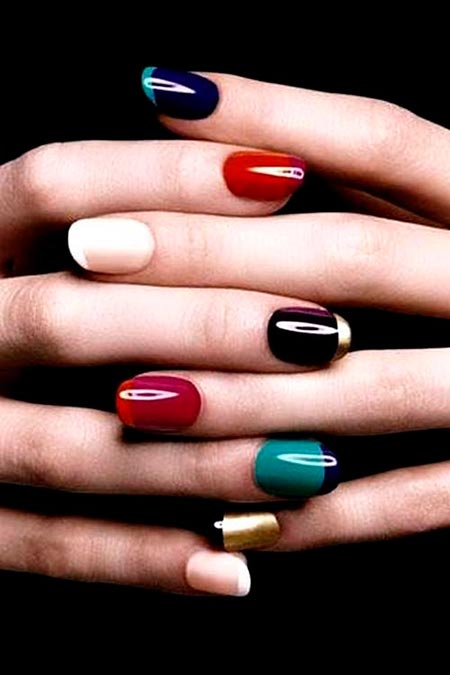 Super-Cool French Manicure Ideas