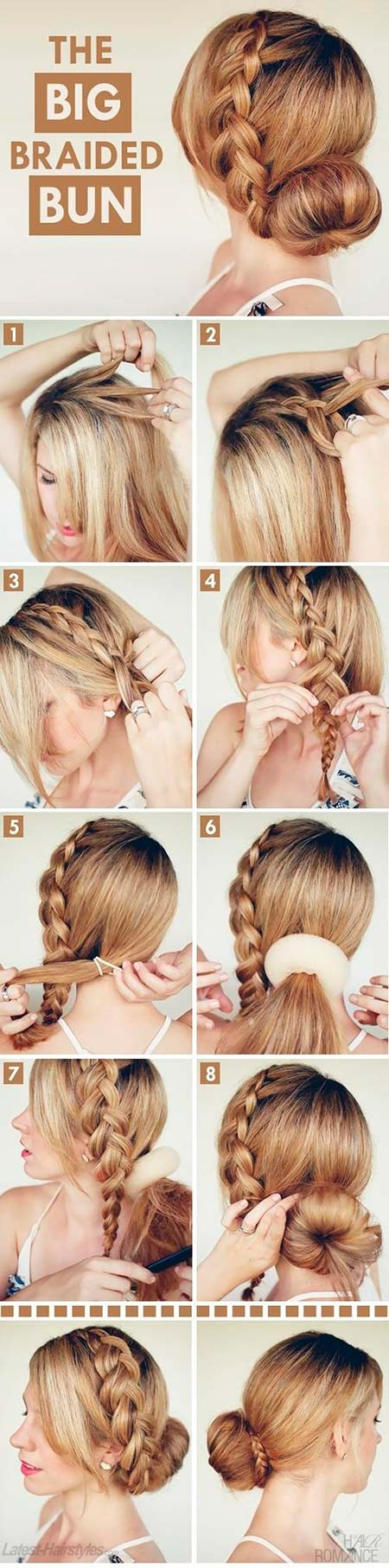 Gorgeous Crown Braids Inspired By Pinterest