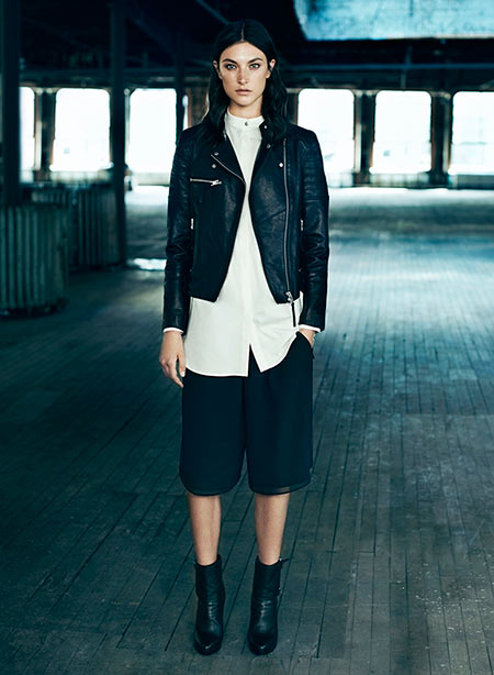 How to Go Masculine Chic This Fall