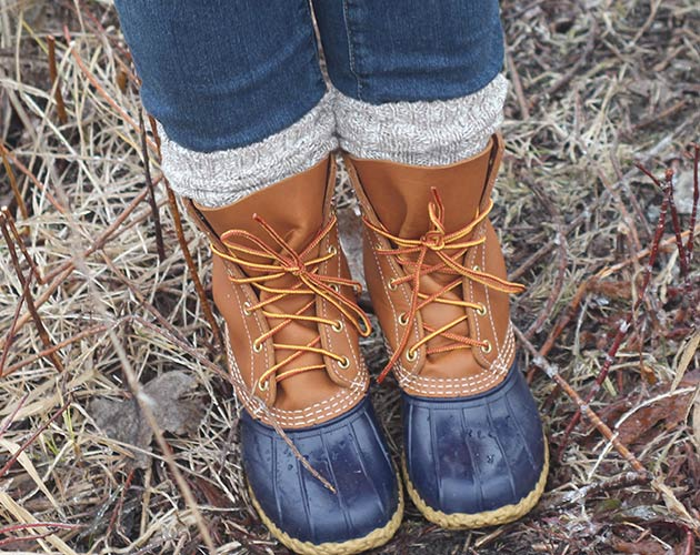 How to Style Bean Boots