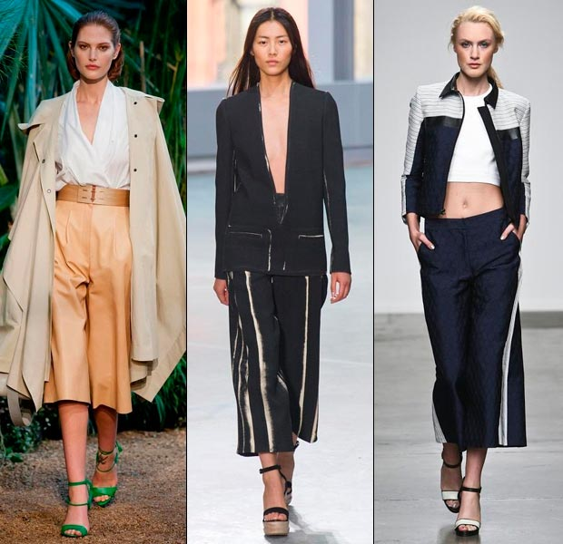 How to Wear Mid-Cropped Culottes