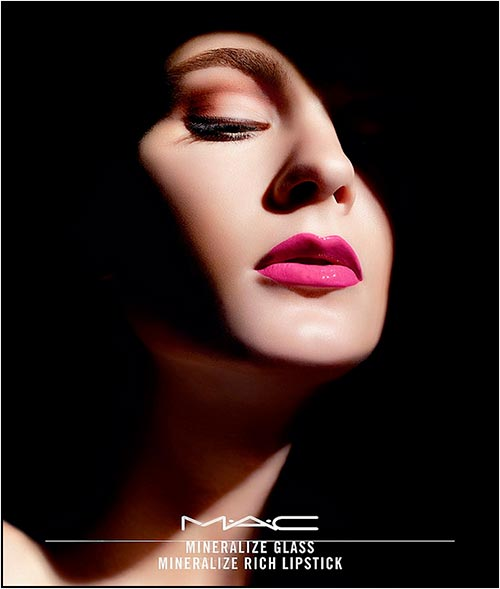 MAC Mineralize Glass and Mineralize Rich Lipsticks Spring 2014
