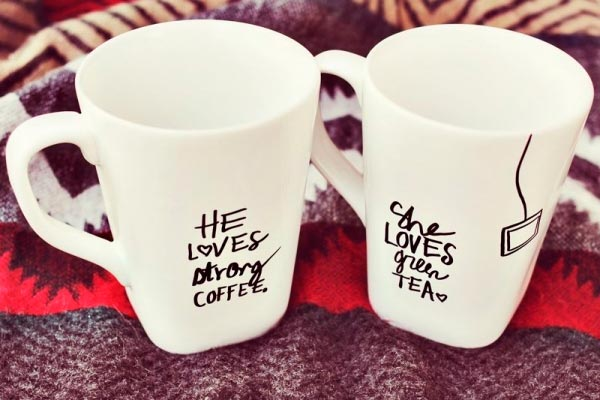 Couple's mugs