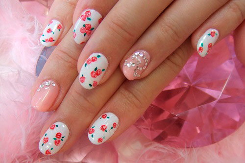 Vintage Floral Nail Art Design Ideas - Vintage Floral Nail Art Design Ideas – BeautyFrizz