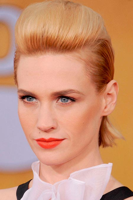 celebrity hair styles 2014 edgy hairstyles to try in 2014 beautyfrizz 4707 | Edgy Celebrity Hairstyles January Jones 7