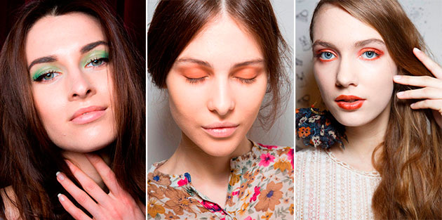Milan Fashion Week makeup styles