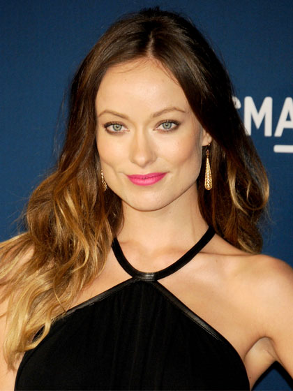 Olivia Wilde with tousled hair ends