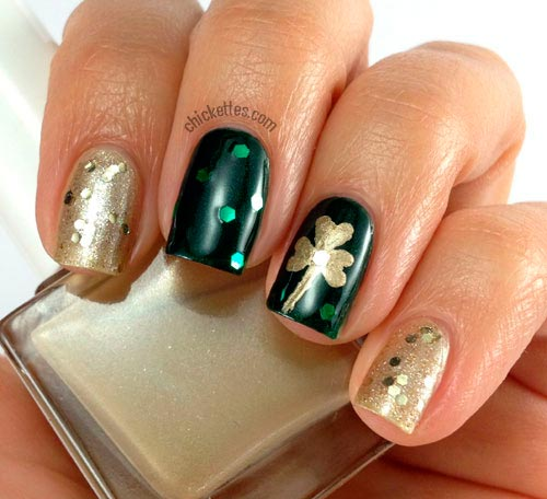 Cool St. Patrick's Day Nail Art Designs To Try