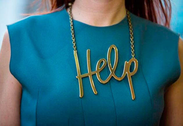 Stylish word necklaces to wear this year beautyfrizz for Words to wear jewelry