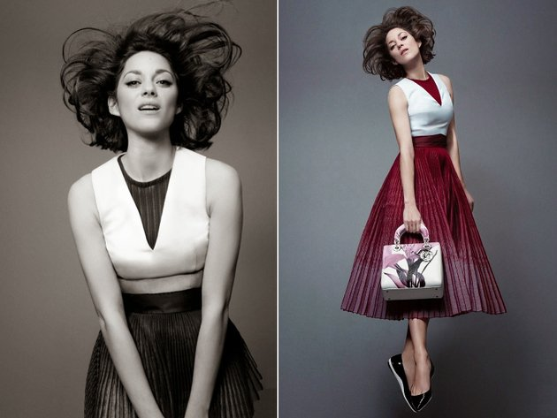 Lady Dior 2014 Campaign With Marion Cotillard