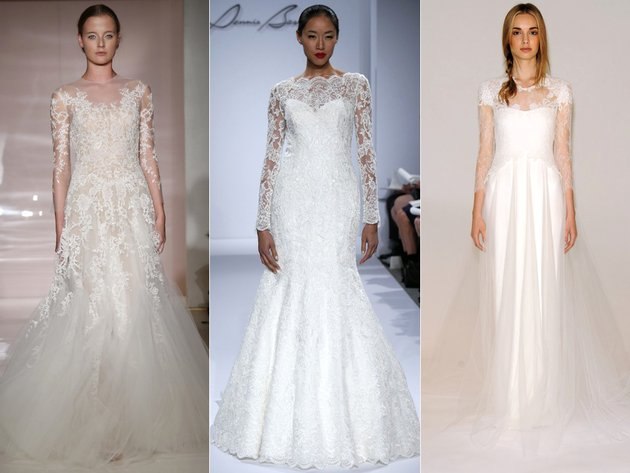 Wedding Dress Fashion Trends 2014