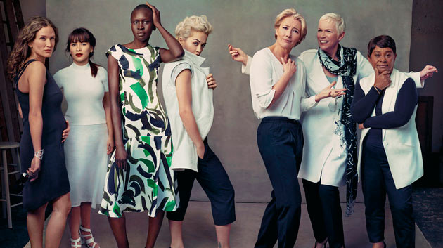 Marks & Spencer Leading Ladies Spring/Summer 2014 Campaign