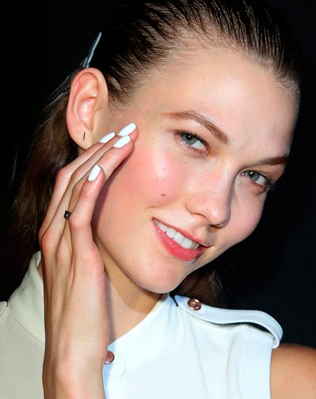 Spring's Hottest Mani Trend: White