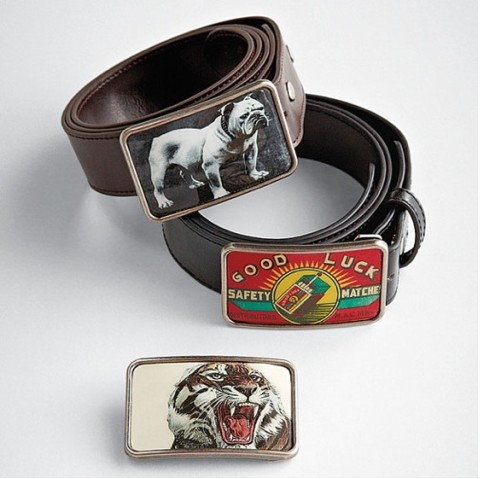 Statement belt buckles