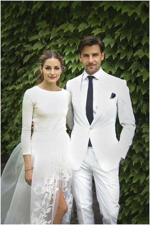 Olivia Palermo's Chic Wedding Gown 2