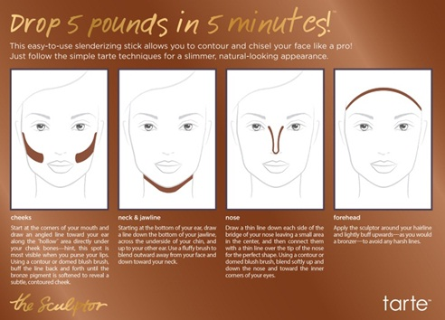 how to use Tarte the Sculptor