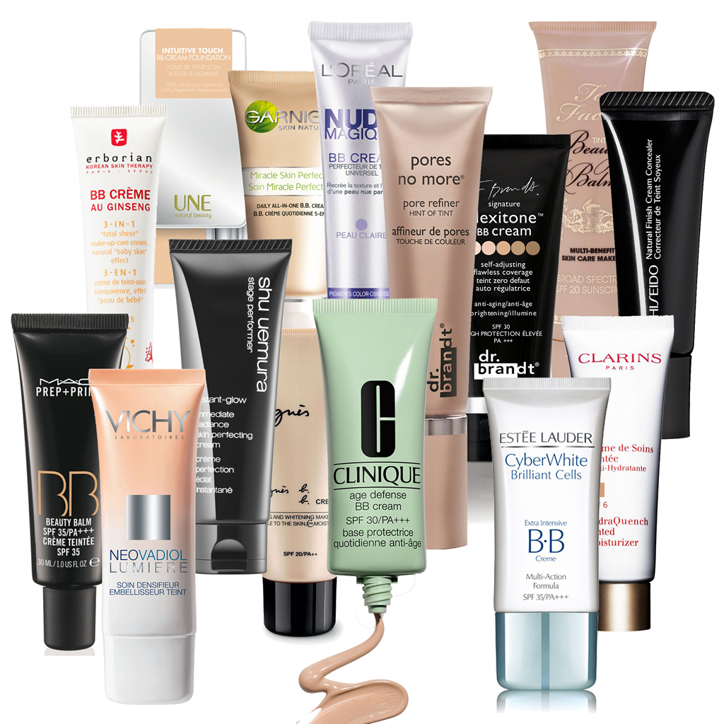 BB creams, CC creams