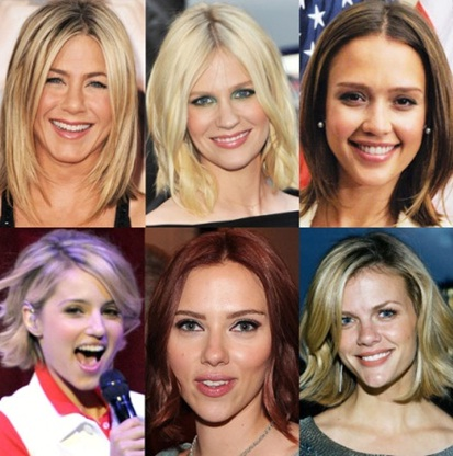 6 female celebrities with long bob hairstyles