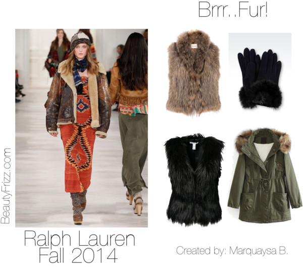 Different fur coats for the season