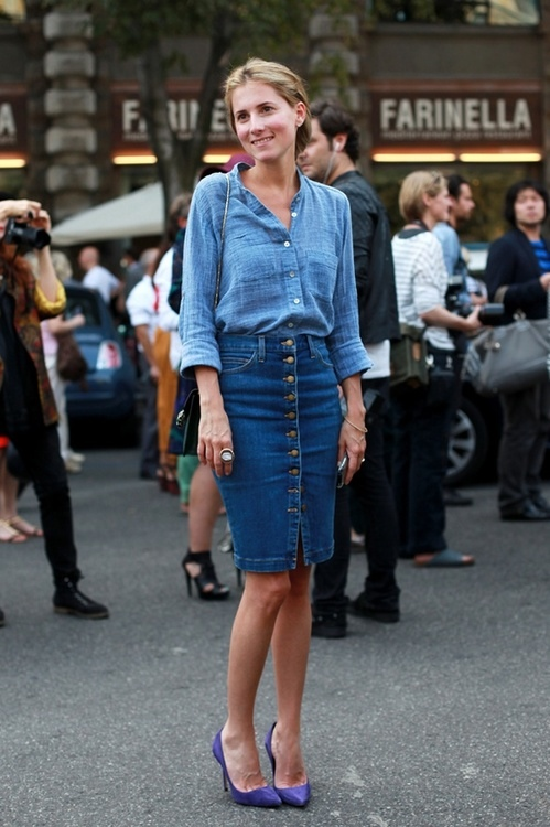 Ways to Wear Denim on Denim 2