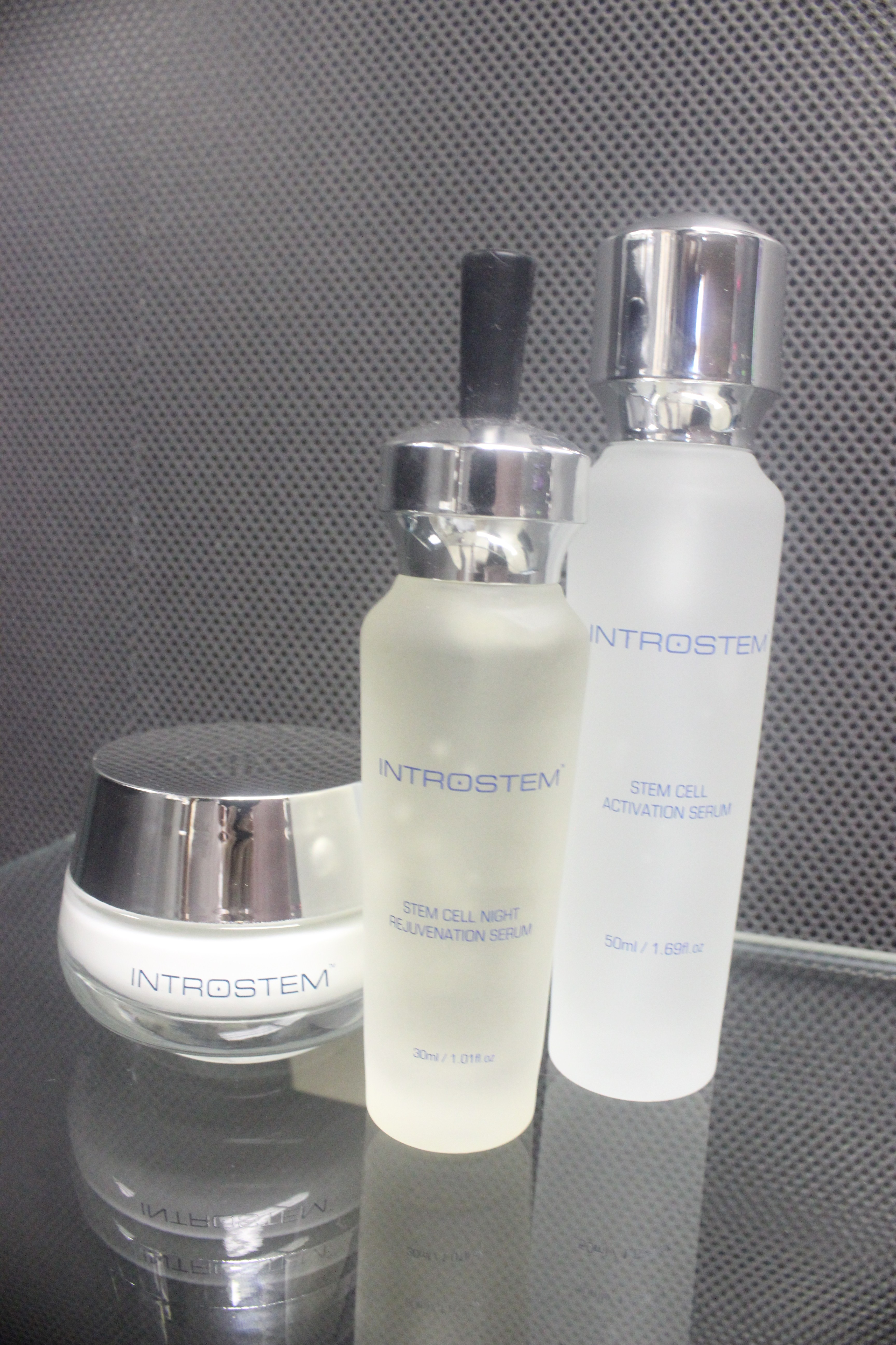 Introstem Stem Cell Night Rejuvenation Serum, Introstem Stem Cell Activation Serum, Stem Cell Dark Circle Eye Cream
