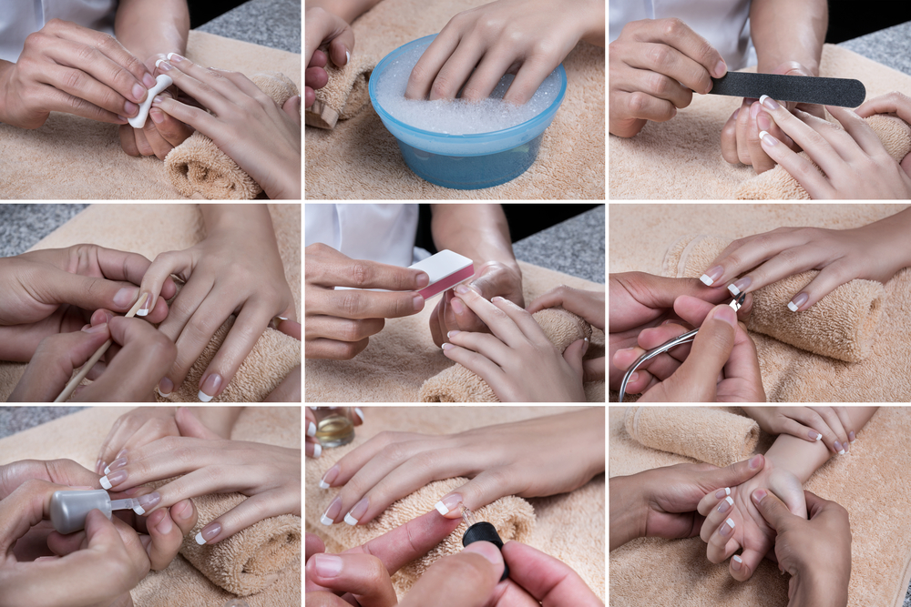 Buff manicure step-by-step guide