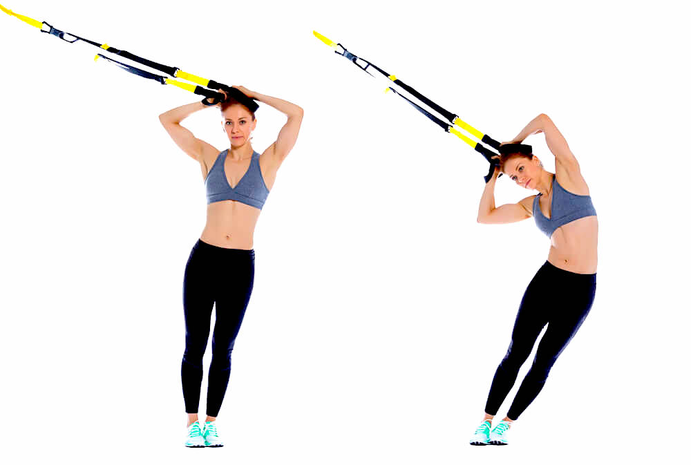 TRX hip drop