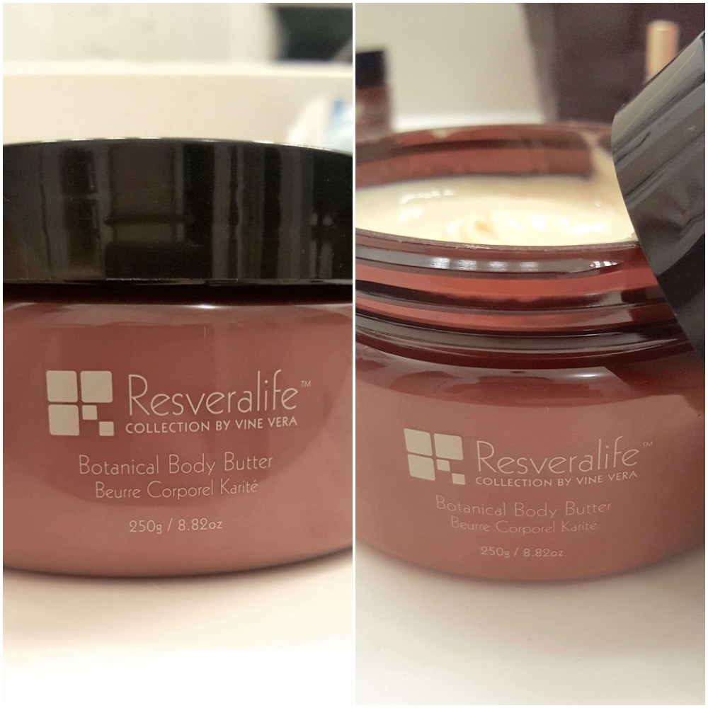 Resveralife body butter review