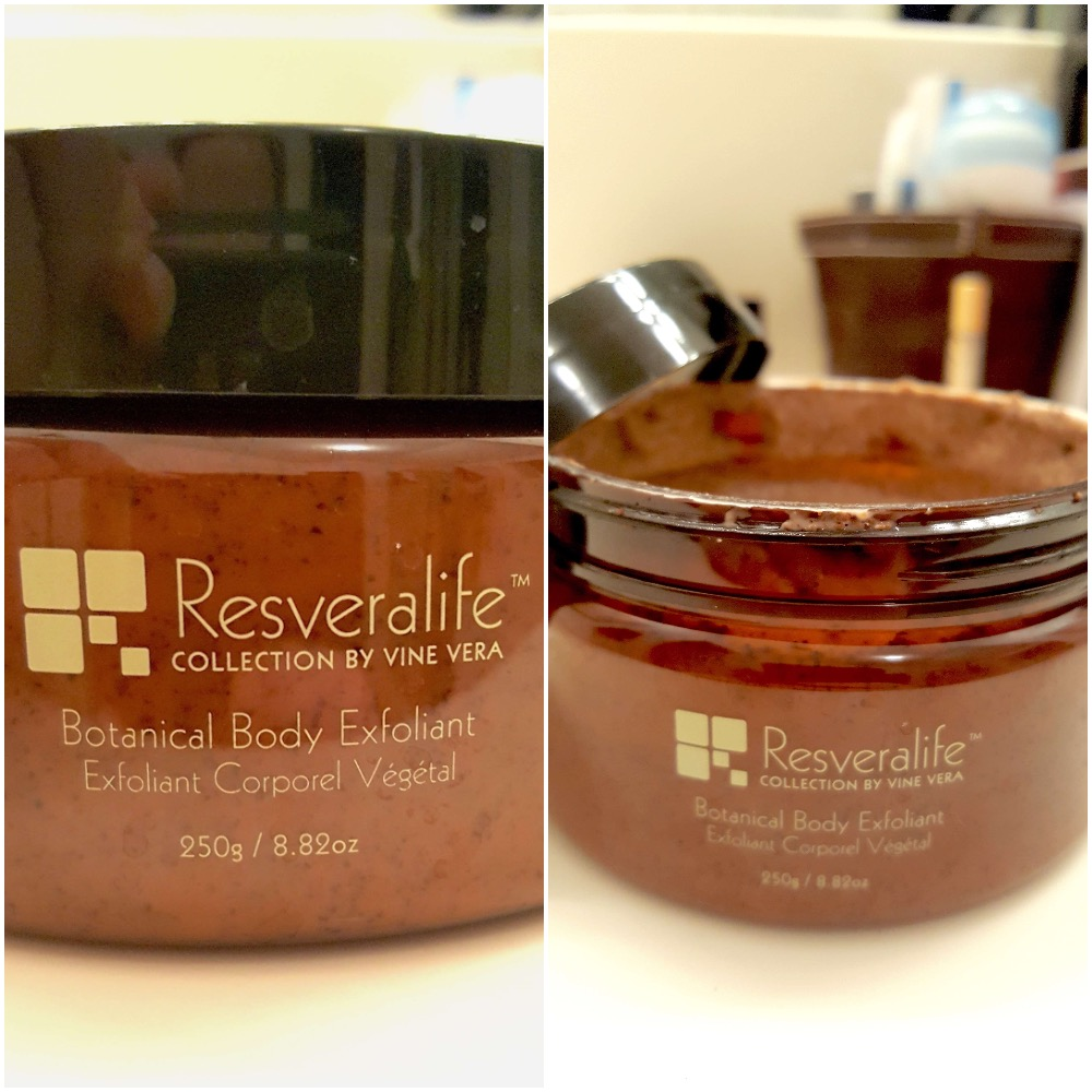 Resveralife body exfoliant review